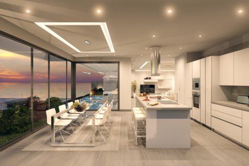 Villa 1 (cocina)
